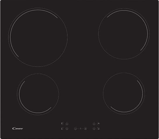 Φούρνος Candy FCS 602 X & Εστίες Κουζίνας Candy CH64CCB