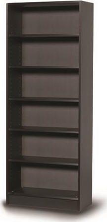SOLON Βιβλιοθήκη Wenge 72(M)X30(B)X182(Y)cm