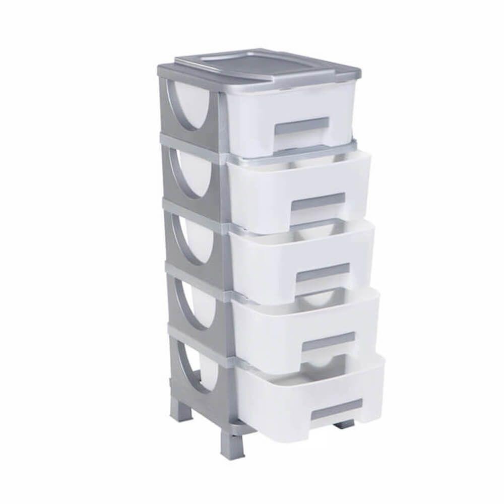 Συρταριέρα Πλαστική με 5 συρτάρια κλειστή ΟΥΜΑ