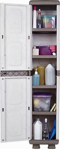 Ντουλάπα Αποθήκευσης πλαστική με 4 ράφια ΙΡΙΔΑ