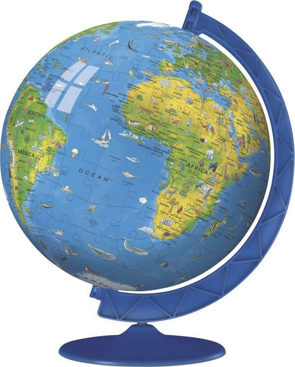 Ravensburger 3D Children's Globe 180pcs (12342)