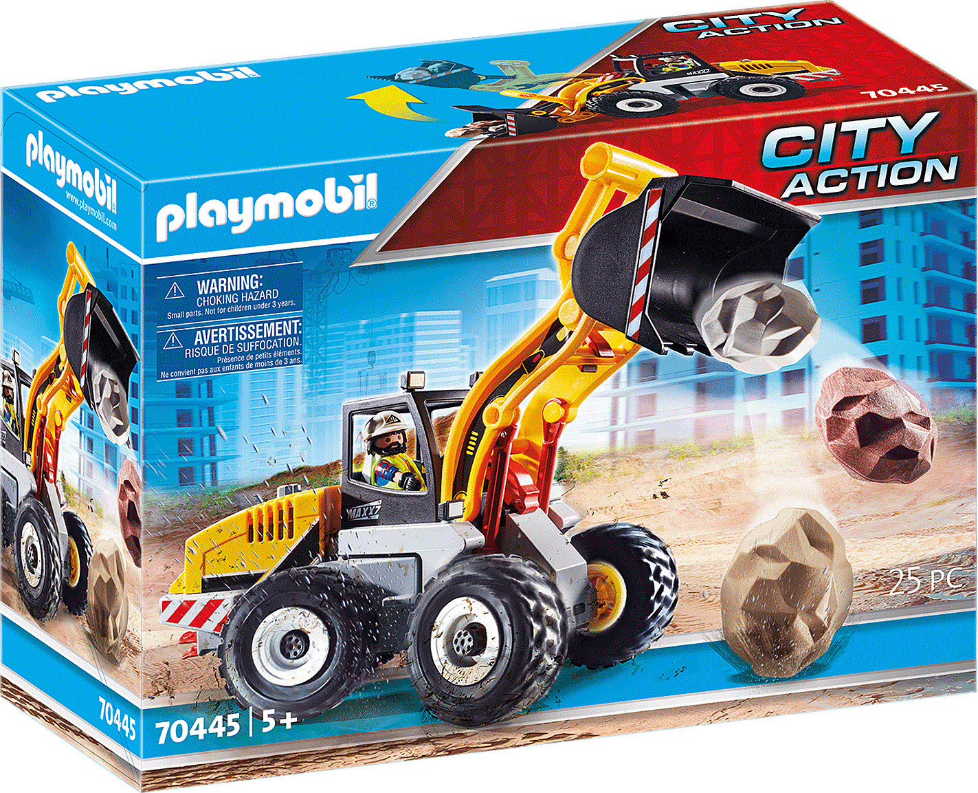 Playmobil City Action - Front End Loader (70445)