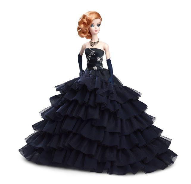 Mattel Barbie Συλλεκτική Midnight Glamour Κούκλα