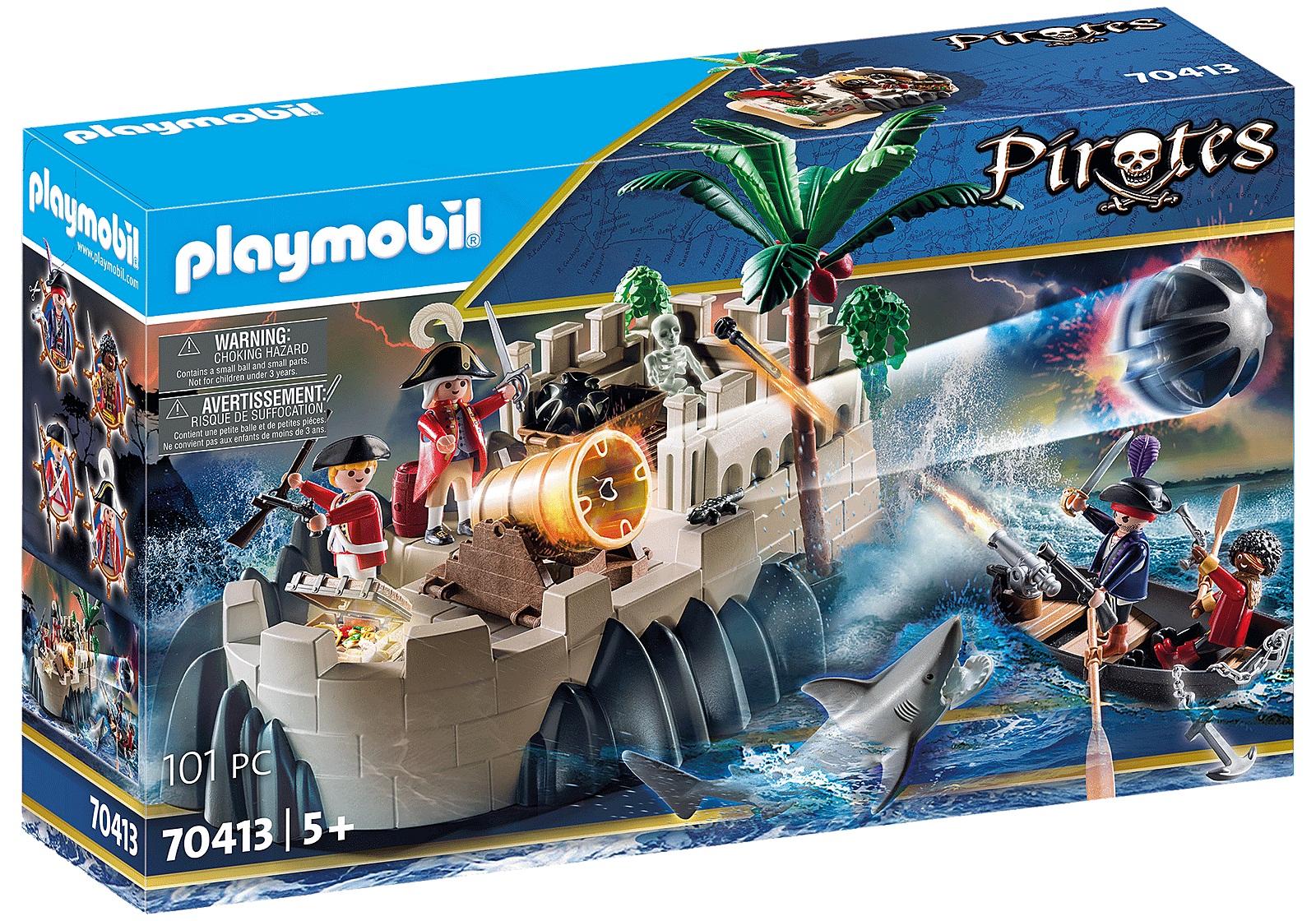 Playmobil Pirates - Redcoat Bastion (70413)