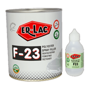 ER-LAC POLYESTER SPRAY FILLER F-23 1L+50ml