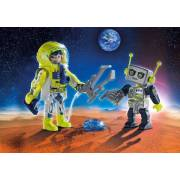 Playmobil Duo Pack - Astronaut and Robot Duo Pack (9492)